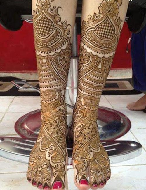 Latest-Pakistani-Indian-Dulhan-Mehndi-Design-for-Hands-Feet-Legs-2016-2017-7