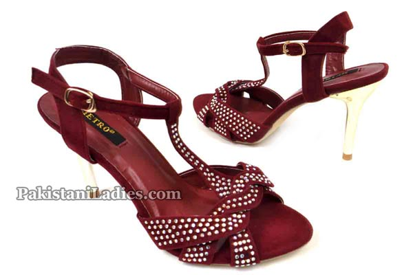 Metro Shoes High Heel Prices 2016 2017 PKR-2495