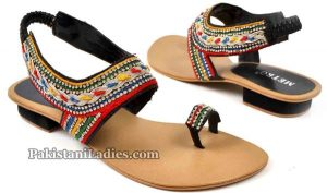 Metro Shoes Summer and Eid Collection 2016 with Prices Sandals for women PKR-2595