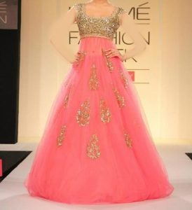 Latest Stylish Gowns Floor Length Anarkali Frocks Suits Indian Actress Dress 2017 2018