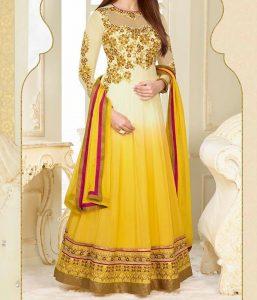 bipasha-basu-Latest Gowns Floor Length Anarkali Frocks Suits Indian Actress Dress 2017 2018