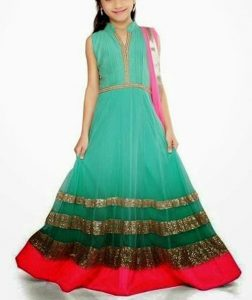 pakistani-indian-new-fashion-a-line-frocks-for-kids-2017-2018