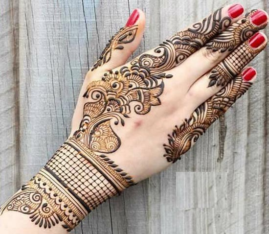 New Simple Indian Mehndi Designs For Hands Feet 2017