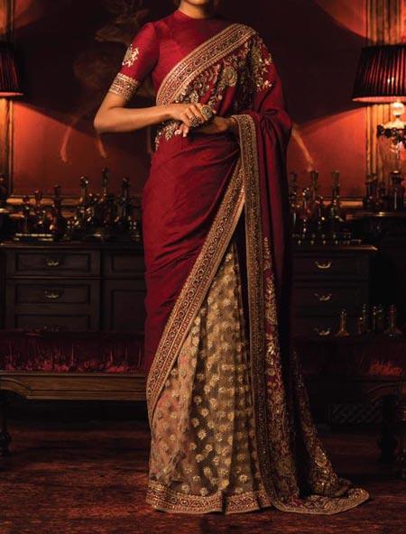latest-sabyasachi-mukherjee-dresses-collection-2017-for-bridal-wedding-facebook-instagram