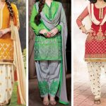 Punjabi Party Wear Salwar Kameez 2017, Suit Neck Designs Photos