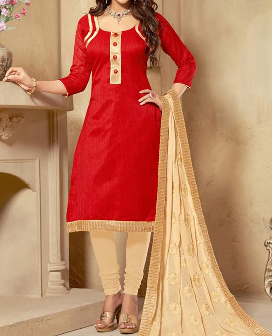red-punjabi-salwar-kameez-suit-2017-2018-party-wear-neck-designs