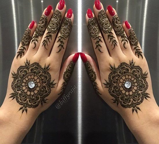 rhinestone-indian-mehndi-design-2017