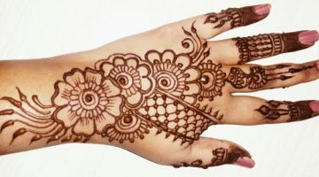 New Simple Indian Mehndi Designs for Hands Feet 2017 Images