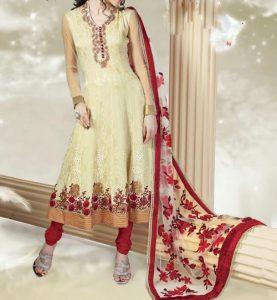 umbrella-frock-design-anarkali-churidar-suits-salwar-kameez-2017-2018-red-off-white