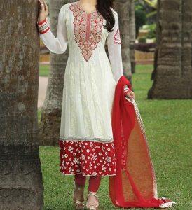 umbrella-frock-design-anarkali-churidar-suits-salwar-kameez-2017-2018-white-red