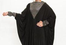 black-velvet-latest-fashion-2017-butterfly-jersey-abaya-designs-kaftan-jilbab-styles