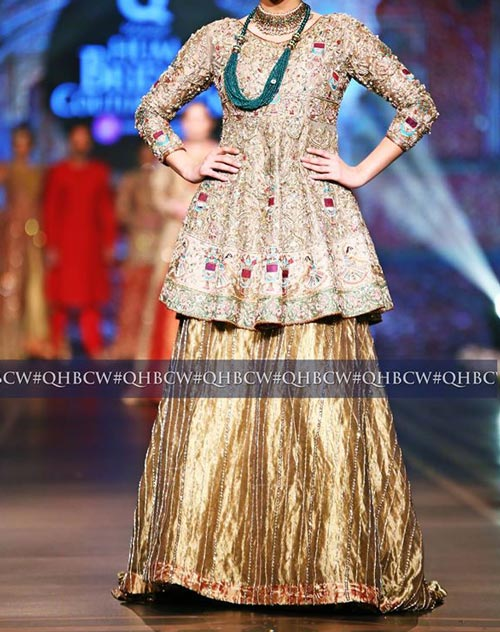 Bridal Couture Week 2016 2017 Wedding Dresses Fashion Trend in Pakistan Gharara