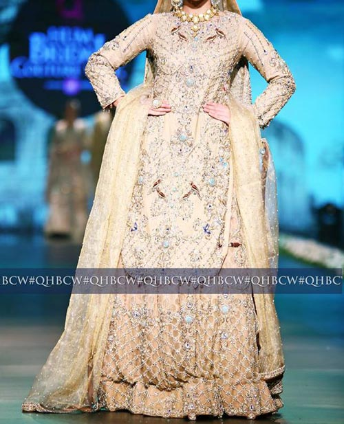 Bridal Couture Week 2016 2017 Wedding Dresses Fashion Trend in Pakistan Gown Frock