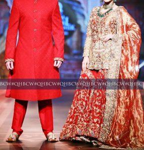 Bridal Couture Week 2016 2017 Wedding Dresses Fashion Trend in Pakistan Sharara