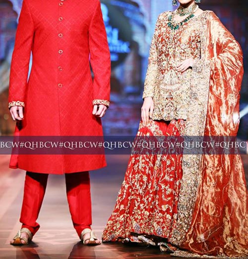 Bridal Couture Week 2016 2017 Wedding Dresses Fashion Trend in Pakistan Sharara