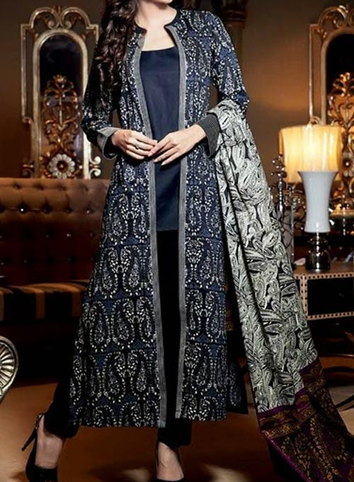 latest-fashion-front-open-double-net-shirt-style-dresses-2017-2018-black