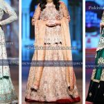Net Bridal Lehenga Fashion 2017 Wedding Dresses with Cut Work