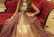 Net Dresses Designs 2017 2018, Net Frocks Gown, Shalwar Kameez Brown