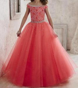 New-Princess Latest Party Wedding Long frocks designs Collection 2017 2018 kids Teenagers