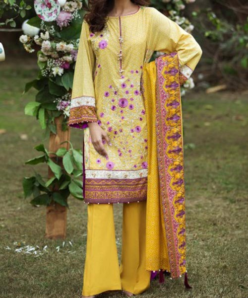 Al Karam Summer Lawn Collection 2017 Prices -3200