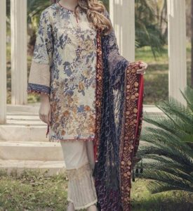 Al Karam Summer Lawn Collection 2017 Prices -6500
