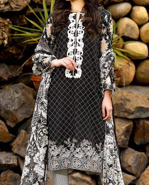 Gul Ahmed Lawn Summer Collection 2017 Prices -Rs.6,000