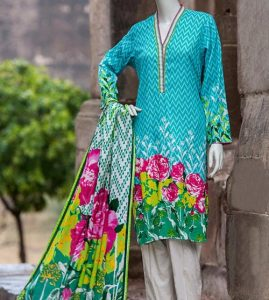 J. Junaid Jamshed Lawn Prints 2017 Summer Collection Prices 2,992