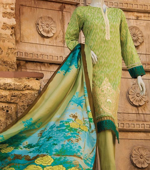 J. Junaid Jamshed Lawn Prints 2017 Summer Collection Prices -5,379.00