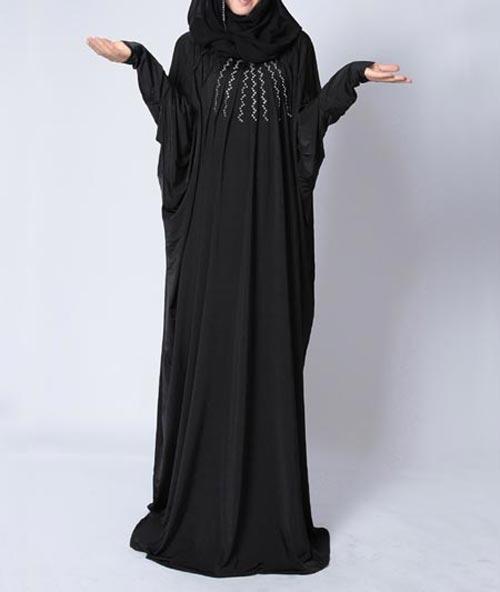 New-Saudi-Abaya-Designs-Fashion-2017-2018--Simple-Black-Burqa-1