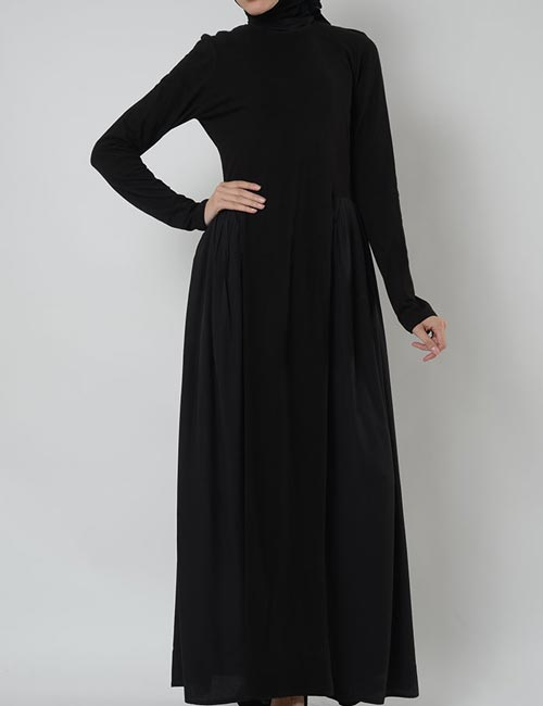 New-Saudi-Abaya-Designs-Fashion-2017-2018--Simple-Black-Burqa-6