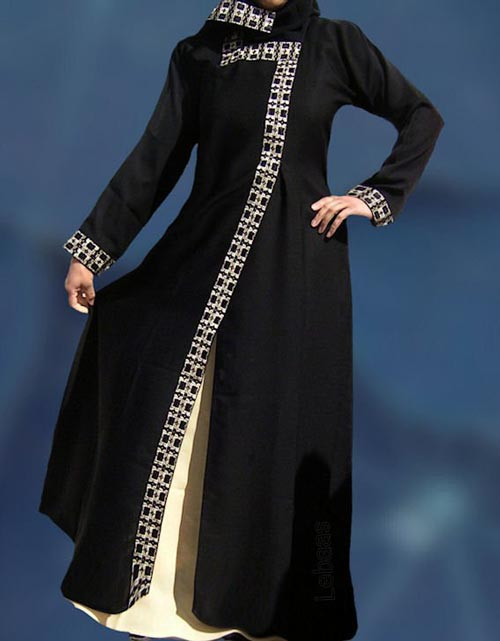 saudi-arabia-New--Abaya-Designs-Fashion-2017-2018--Simple-Black-Burqa