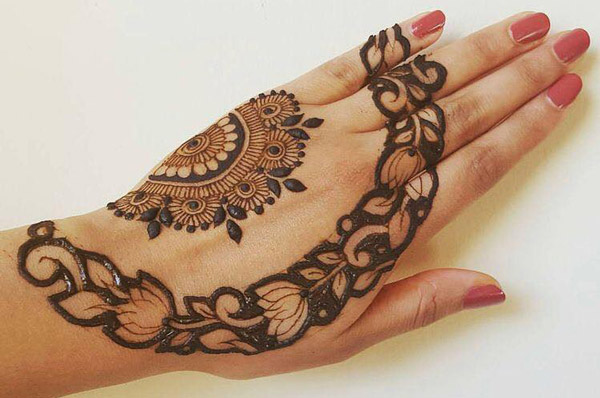 Latest New Henna Mehndi Designs 2018 2019 Catalog Book Arabic