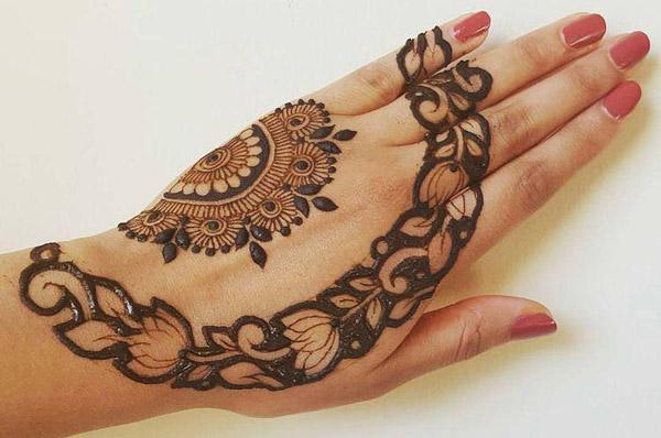 Latest New Henna Mehndi Designs 2018 2019 Catalog Book Arabic
