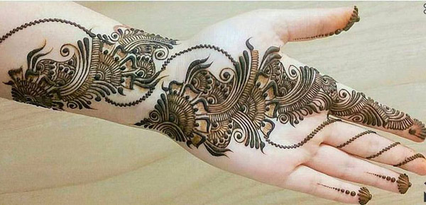 Latest New Henna Mehndi Designs 2018 2019 Catalog Book Facebook Image