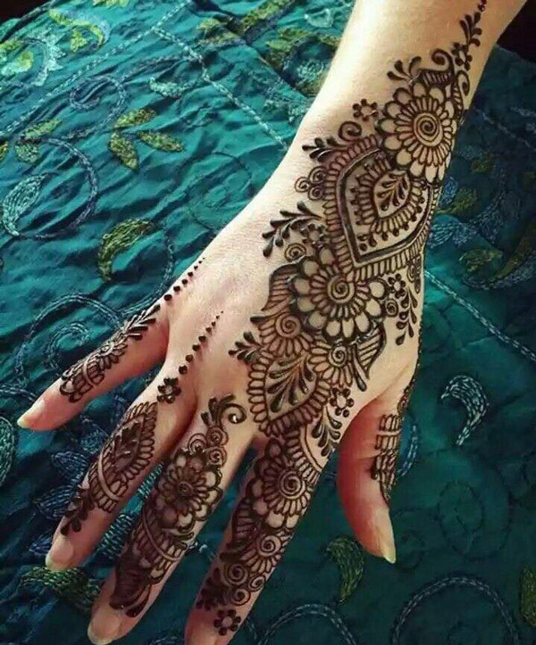 2019 mehndi designs – Latest henna designs for this year