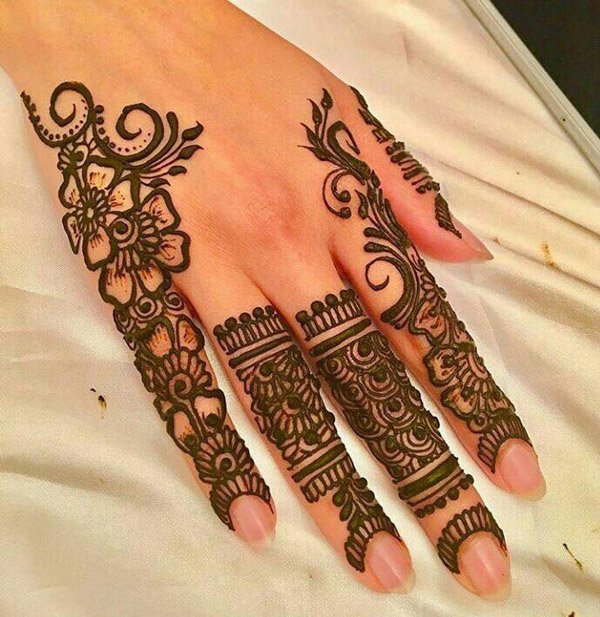 Mehndi Designs 2018 : Latest best henna mehndi designs  catalog book images