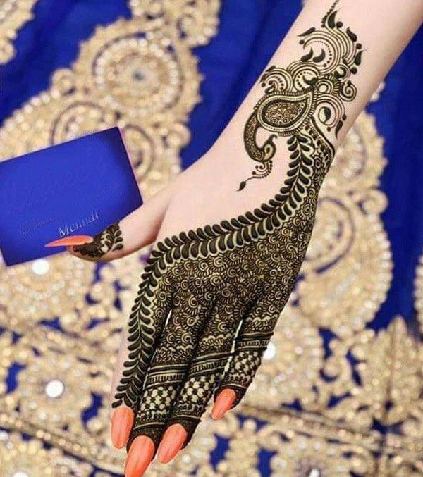 Latest New Henna Mehndi Designs 2018 2019 Catalog Book Stylish