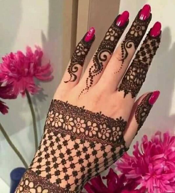 Latest New Henna Mehndi Designs 2018 2019 Catalog Book UAE Arabic