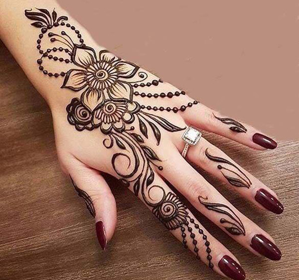 Mehndi Design New : Latest best henna mehndi designs  catalog book images