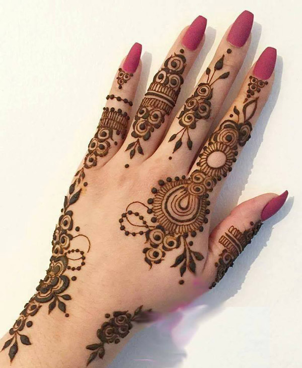 Mehndi Designs 2018 : Latest best henna mehndi designs  catalog book