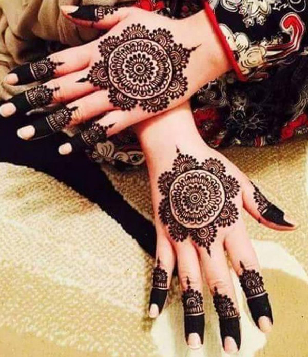 Bridal Cone Mehndi Designs 2018 2019 for Full Hands Images Free Download