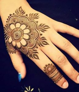 Cone Mehndi Designs 2018 2019 for Hands Images Free Download Easy