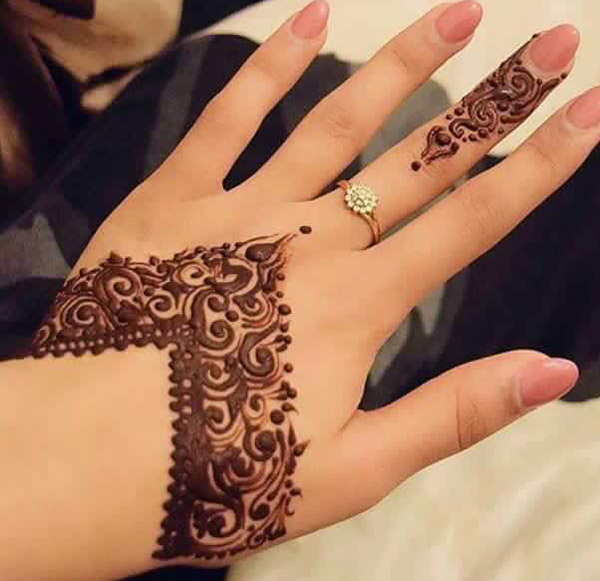 Cone Mehndi Designs 2018 2019 for Hands Images Free Download Simple