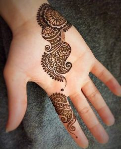 Cone Mehndi Designs 2018 2019 for Hands Simple