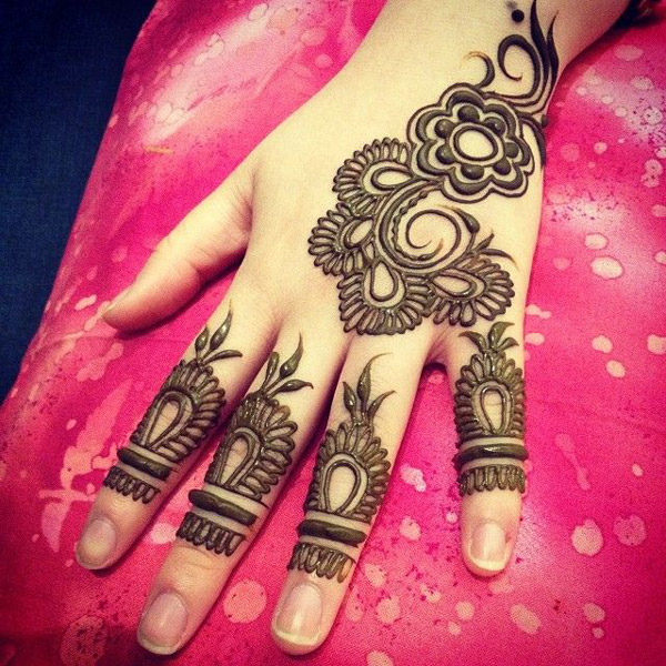 Easy and Simple Cone Mehndi Designs 2018 2019 for Full Hands Images Free Download