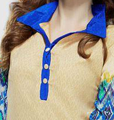New Neck Design 2018 2019 for Salwar Kameez with Buttons & Piping Churidar Gala Style 9