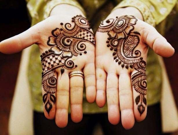 Mehndi For Girls Easy : Simple mehndi designs collection how to draw them at home