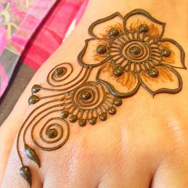 50 Simple Mehndi Designs Collection 2018 How To Draw Them At Home