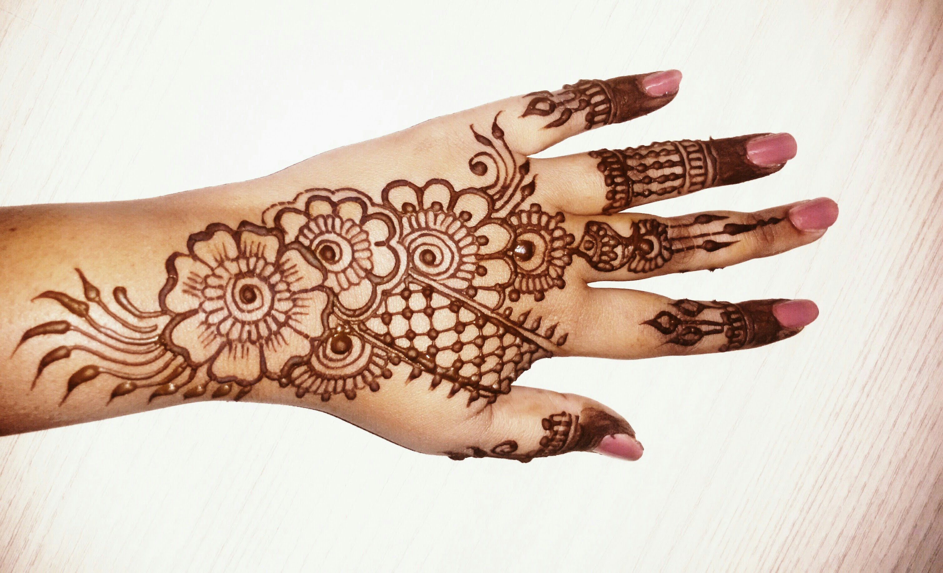 Mehndi Designs Simple : 50 simple mehndi designs collection 2018 how to draw them at home