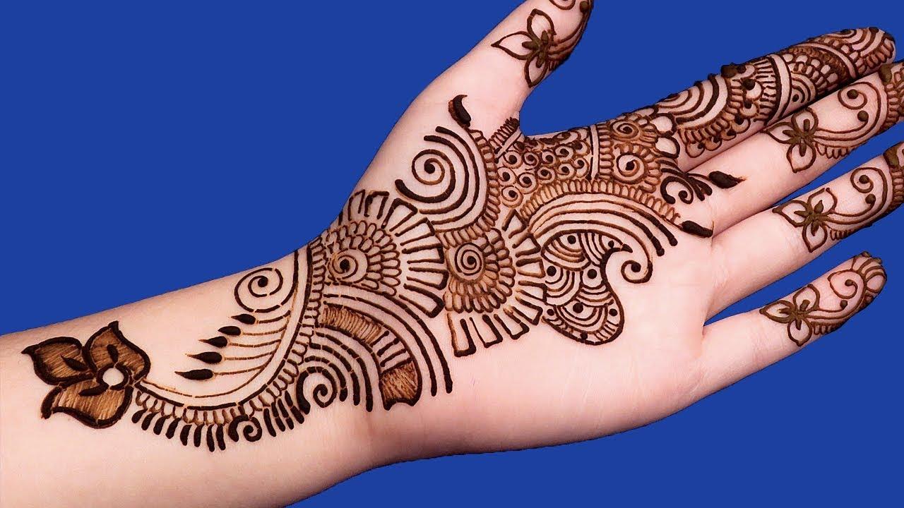 Mehndi Finger Designs